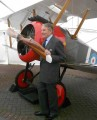 Tommy Sopwith and the Brooklands Museum Sopwith Camel