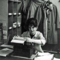 1959 - Mary Stark in the Goods-In Office. Source: Mary Stark
