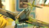 Hawker Hurricane model from Brooklands Museum