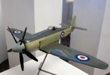 Model Sea Fury from Brooklands Museum
