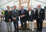 Barry Pegrum, Tommy Sopwith, Les Palmer, Ambrose Barber and Howard Mason (BAE Systems Heritage)