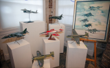 Models of Hawker aircraft from the Brooklands Museum collection
