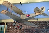 Sopwith Tabloid model from the Brooklands Museum
