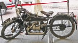 1920 ABC motorcycle built by Sopwith Aviation on loan from the Brooklands Museum