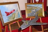 BAE System Heritage loaned Hawker Hunter paintings and models