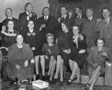 December 1943 Party to celebrate Neville Spriggs's O.B.E. Note that there is food and drink but in 1943 no cigars. Source: Jennifer Clarke