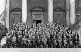 1944 - Hawker Aircraft Design Department outside Claremont House, Esher