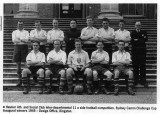 1945 - Design Office football team at Claremont House. Source: Jim Berryman