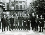 1945 - The Royal Aeronautical Society's Advisory Committee. Formed in 1941 this committee provided advice and guidance on aviation policy to the Minister of Aircraft Production.