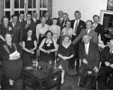 Cerca 1946 Hawker social gathering possibly at the Griffin Hotel, Kingston. Source: Jon Chaplin