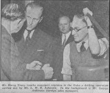 19th May 1953 The Duke of Edinburgh visiting the Canbury Park Road factory. Source: Surrey Comet 20th May 1953 p.1.