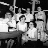 1959 - Goods-In Office staff. Source: Mary Stark