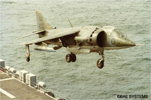 1972 Hawker Siddeley Harrier AV8A